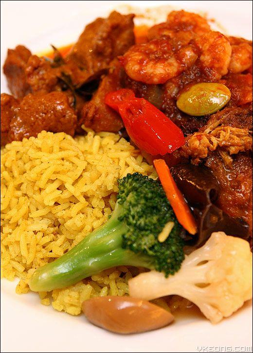 Nasi briyani is Malaysian food but we have it too in Indonesia