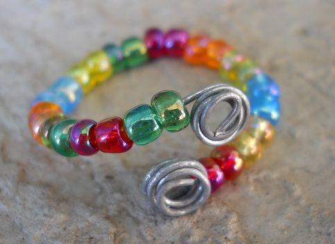 100 besten Jewelry-Ring Bilder auf Pinterest | Drahtumwickelte ringe ...