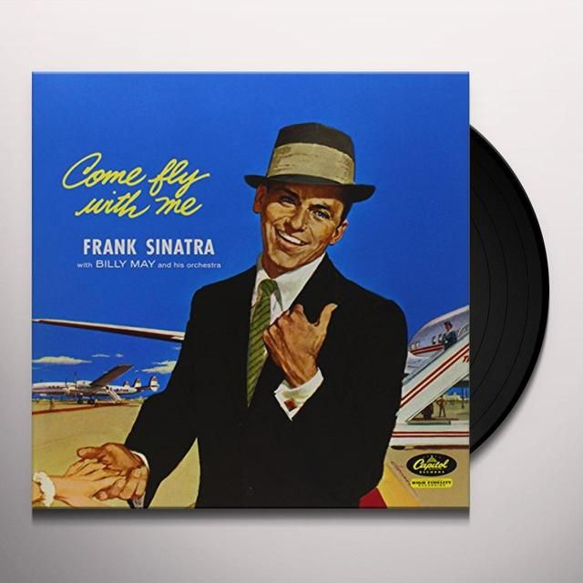 Frank Sinatra Come Fly With Me Vinyl Record With Images Frank