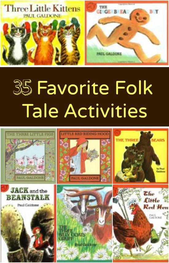 35 Favorite Folk Tale Activities...activities to go with books
