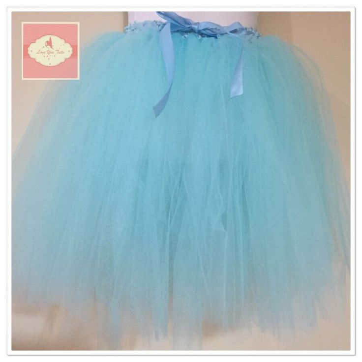 Blue  3/4 tutu skirt  Available on the website  www.loveyoututu.com.au