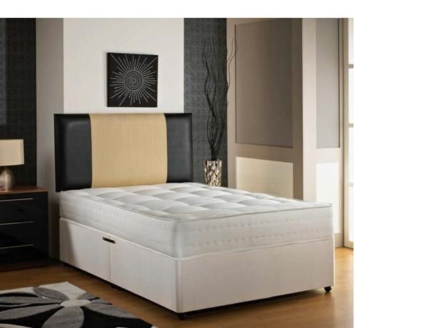 "2ft 6"" Olympia Small Single Divan Bed"