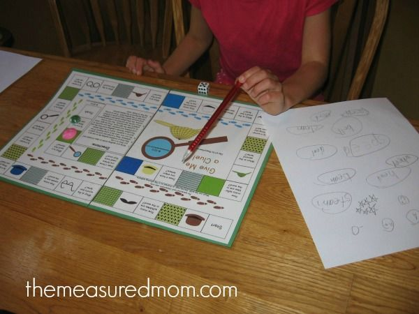 Give me a clue spelling game 2 the measured mom Free Spelling Game for Grades 1 4    Use with any word list!