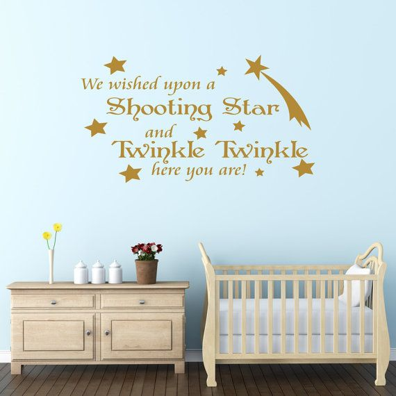 This quote wall sticker is the perfect decorative accessory to brighten up your home, ideal for any childs bedroom or nursery.  The wall sticker says,