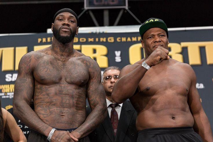 Wilder vs. Ortiz & Dirrell vs. Uzcategui weights & quotes #BoxingNews #AndreDirrell #allthebelts #boxing
