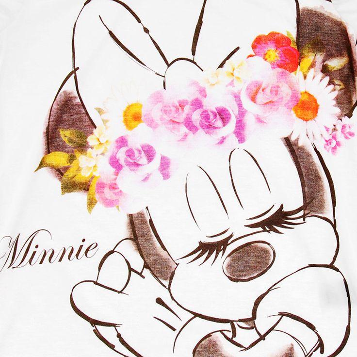 【ディズニーストア】半袖Tシャツ Floral Beauty ミニー M | ディズニーグッズ・ギフトの公式通販サイトDisneystore