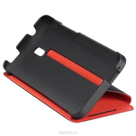 HTC HC V851 чехол для HTC One mini, Black Red  — 829 руб. —  Жесткий чехол HTC HC V851 для смартфона HTC One mini. Черный корпус с красной внутренней подкладкой надежно защищает телефон и придает ему индивидуальность. Твердая внешняя поверхность обеспечивает уверенное удерживание телефона в руке, при этом динамики и экран остаются незакрытыми.