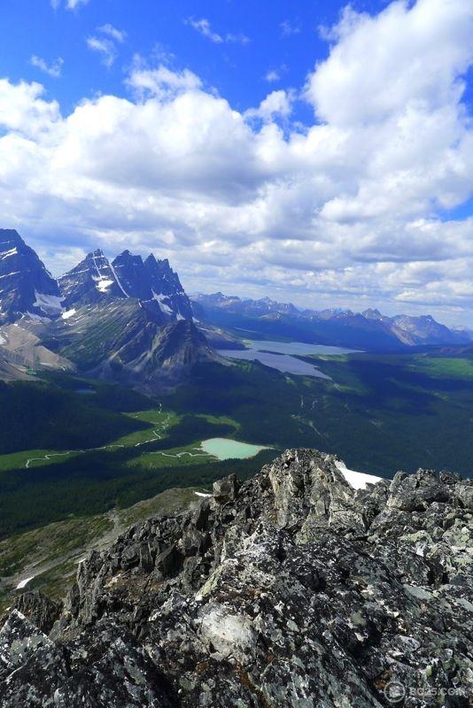 Tonquin Valley near beautiful Jasper, Alberta, in Jasper National Park