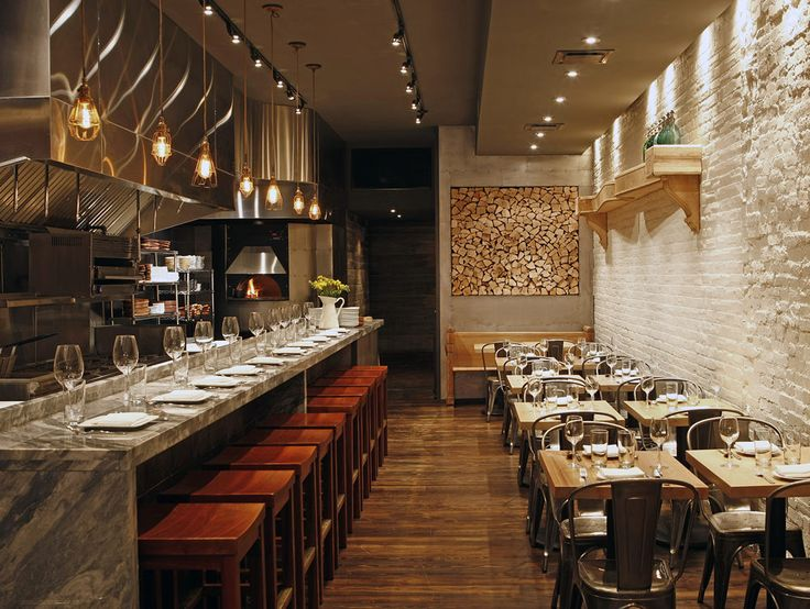 Barbuzzo: After years on 13th Street, Valerie Safran and Marcie Turney hit the big-time with Barbuzzo. The space is small, but the look is stark and stunning. Lots of wood, stone, and shiny metal elements make Barbuzzo stand out.