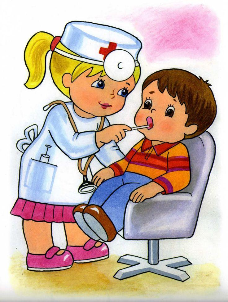 Детские рисунки докторов