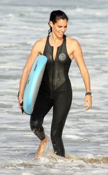 Daniela Ruah - The Cast Of 'NCIS: Los Angeles' Go Surfing