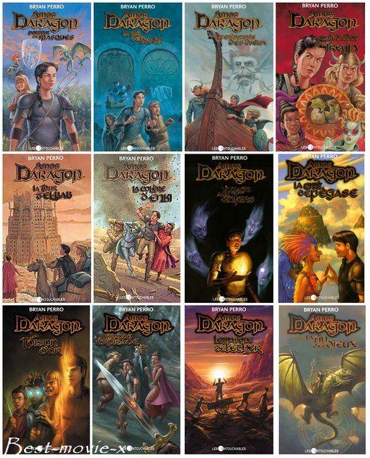Amos Daragon - Tome 1 à 12 La première série que j'ai lu! Magique! (mais pour les enfants seulement)