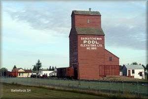 The Grain Elevators of Western Canada  The Battlefords, Saskatchewan