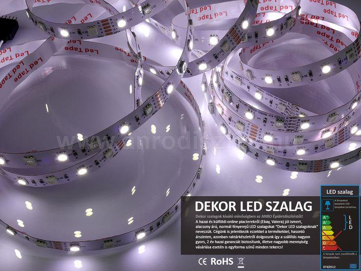 Csak a fehér fényű chipek világítanak, így akár egy munkahely háttérvilágítása is lehetne az RGBW típus: http://www.anrodiszlec.hu/product_info.php/products_id/11335