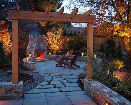 Lighting design ideas for small backyard