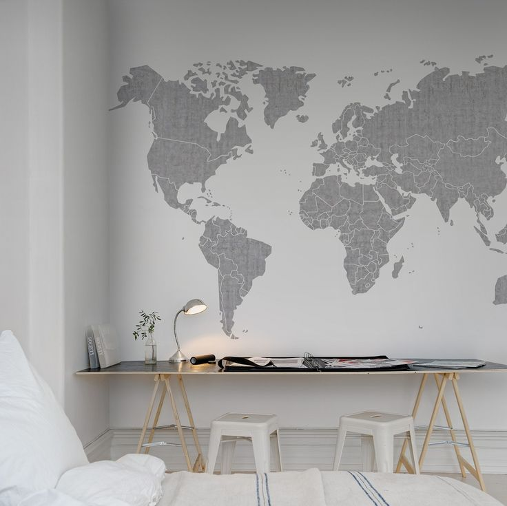 """Not necessarily this one exactly, but a """"travel"""" themed room in the office?"""