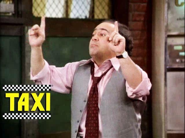 taxi tv show louis | Taxi - Pacman // Danny DeVito | FILM ...