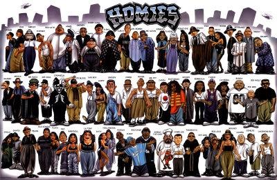 Lil Homies Stickers