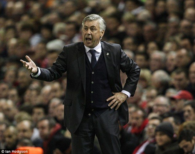 Former Real Madrid boss Carlo Ancelotti has ruled out the possibility of returning to Serie A giants AC Milan