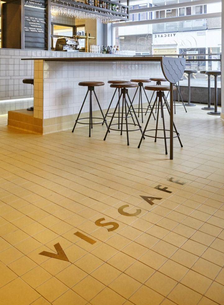 Viscafe De Gouden Hoek by Studio Modijefsky, Amsterdam – Netherlands » Retail Design Blog