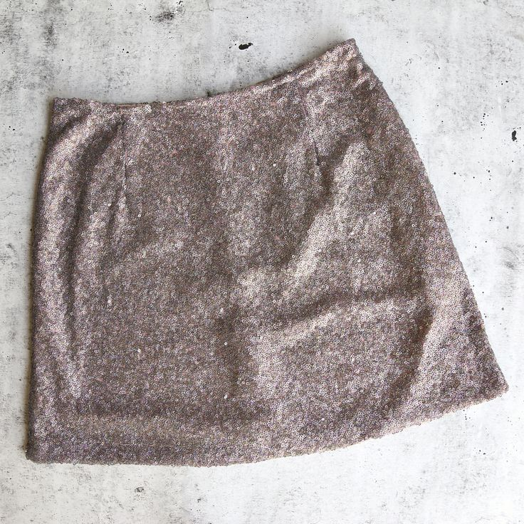motel - weaver mini sequin skirt - pink diamond