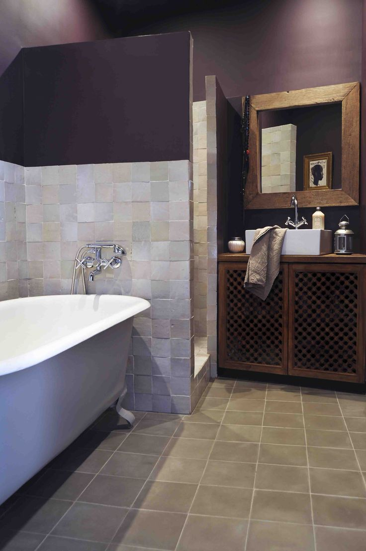 les 25 meilleures id es de la cat gorie zellige salle de bain sur pinterest zellige salles de. Black Bedroom Furniture Sets. Home Design Ideas