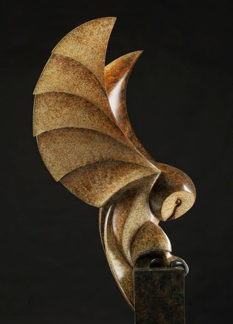 Paul Harvey bird sculptures