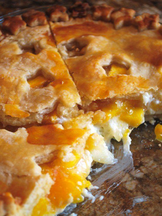Peach Cream Cheese Pie