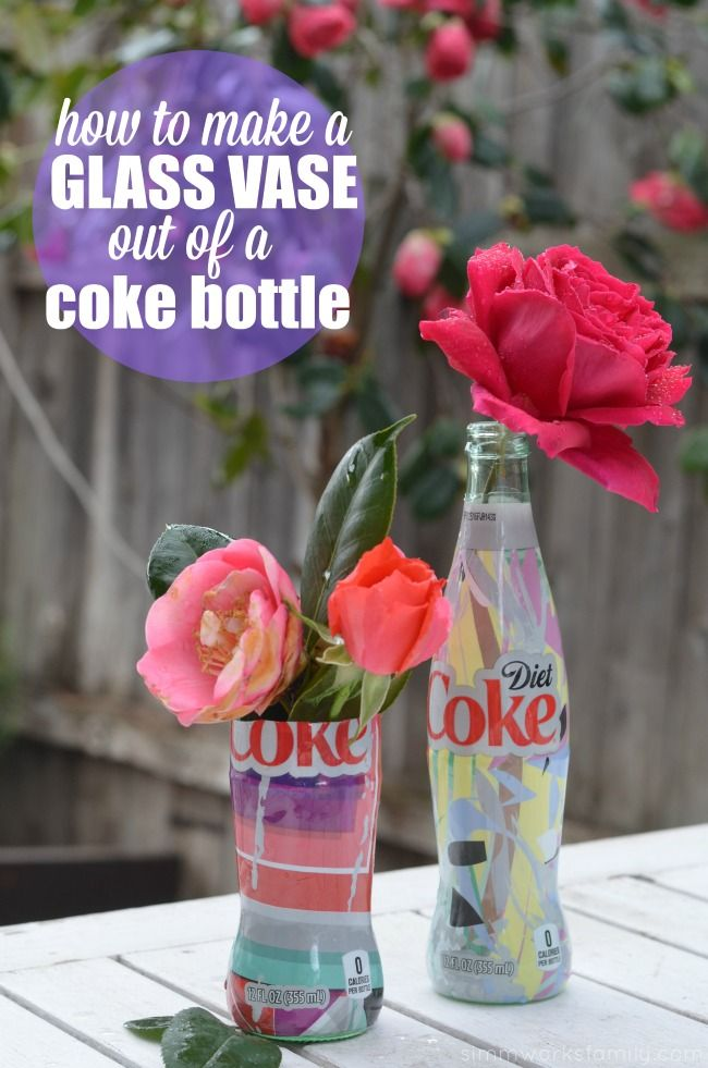 868 best images about handmade gifts on pinterest crafts for How to make flower vases out of wine bottles
