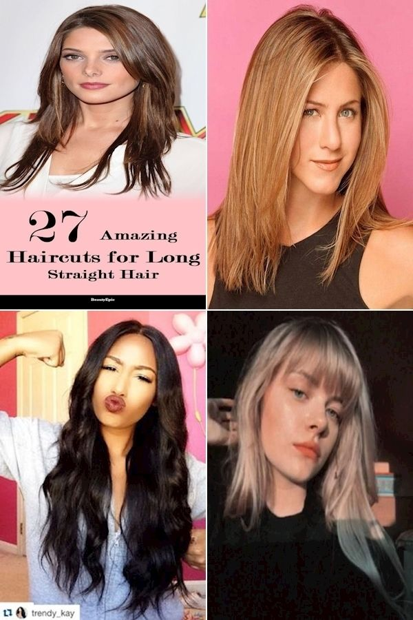 Ways To Style Straight Hair Different Straight Hairstyles Jessica Simpson Hairstyles In 2020 Straight Hairstyles Long Straight Hair Hair Styles