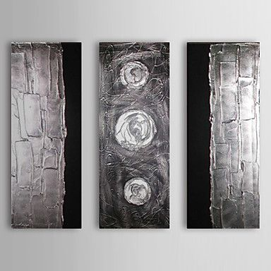 【今だけ☆送料無料】 アートパネル  抽象画3枚で1セット ゴージャス メタル風 ステンレス風 立体模様【納期】お取り寄せ2~3週間前後で発送予定