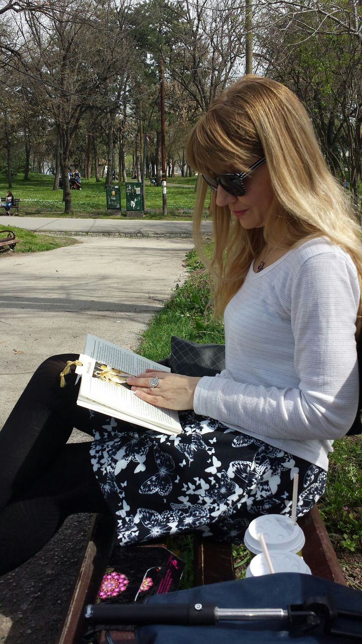 Rest with  a book ln the spring morning...Nish...Serbia