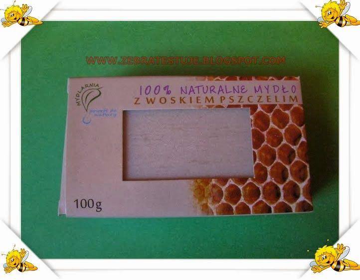 Zebra Testuje: Mydło z woskiem pszczelim ?