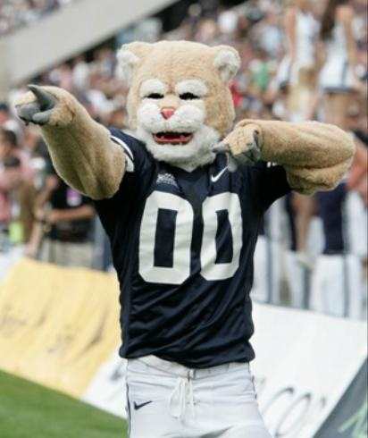 BYU Cougars Mascot Cosmo!!
