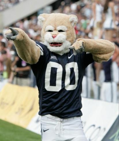 BYU Cougars Mascot Cosmo!!