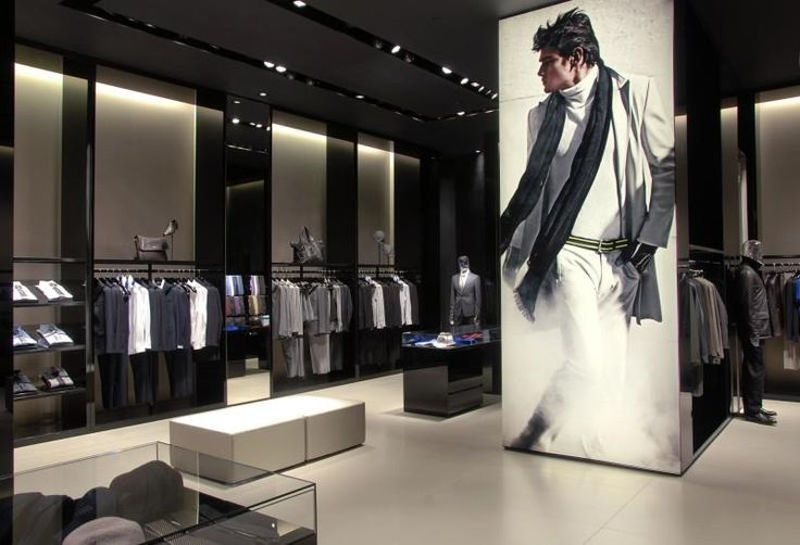 Emporio Armani Store at Spinningfields in Manchester