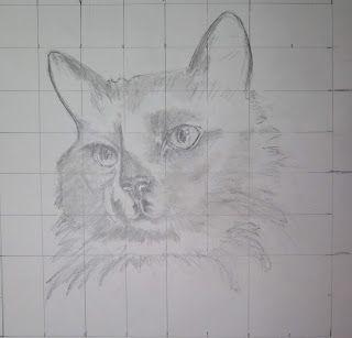 Studio at the Farm: The LAST Cat ... a Work in Progress