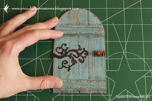 Pixie Dust Miniatures: My Workspace - Cottage update