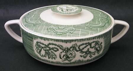 13 Best Ye Old Curiosity Shop Green Transferware Images On