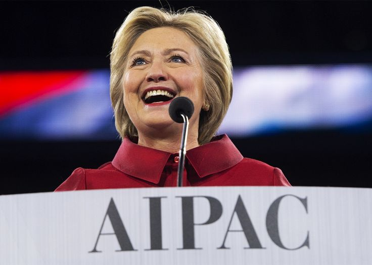Hillary Clinton's AIPAC Speech Was a Symphony of Craven, Delusional Panderin  -  Clinton had an opportunity to show some political courage. She decided to alienate the left instead.