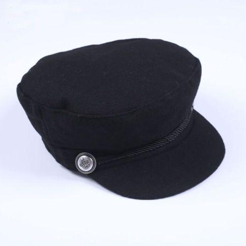 Unisex-Mens-Womens-Wool-Uni-Plain-Baker-Boy-Flat-Cap-Newsboy-Cabbie-Gatsby-Hats