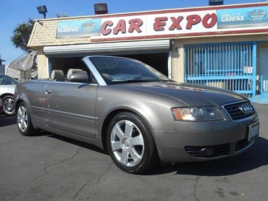 Convertible, 2006 Audi A4 1.8T Cabriolet with 2 Door in Downey, CA (90241)