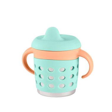 Make My Day Stainless Steel 3 in 1 Sippy Cup - Mint Orange $26.95 http://www.hellocharlie.com.au/make-my-day-stainless-steel-3-in-1-sippy-cup-mint-orange/