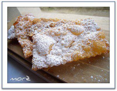 Menta e Cioccolato: Panna, Farina..et.. Voilà Chiacchiere, Crostoli, Galani!!!