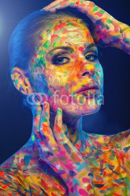 face of colors© Grischa Georgiew