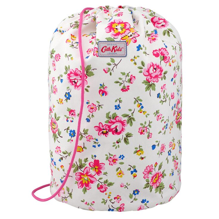 Bramley Sprig Large Kids Drawstring Barrel Bag | Cath Kidston |