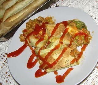 W Mojej Kuchni Lubię.. : tortilla mięsno-warzywna...