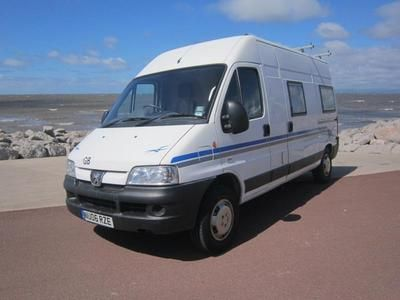 2006 PEUGEOT BOXER SHORTS CONVERSION Diesel In Morecambe