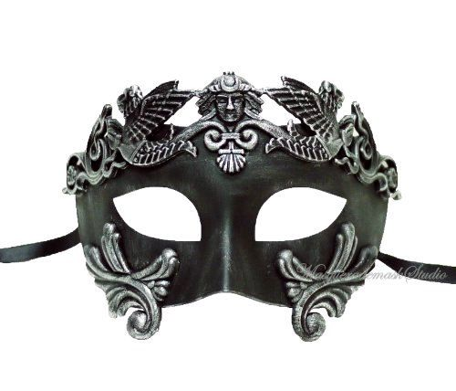 Mens Masquerade Mask for Men Roman by MasquerademaskStudio on Etsy, $29.95