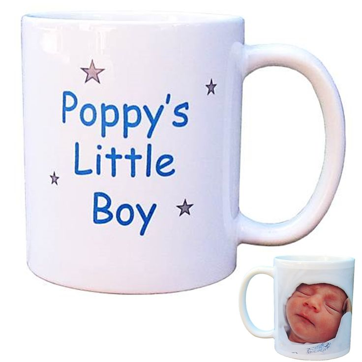 Personalised Photo Mug - Grandpa's/Poppy's Little Boy